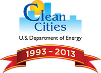 Clean Cities 20th Anniversary Logo