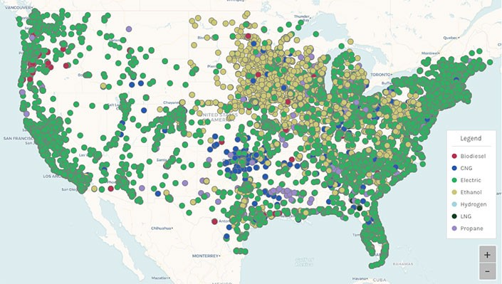 Clean Cities Alternative Fueling Station Locator Overhaul Boasts