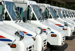 Photo of a fleet of vehicles