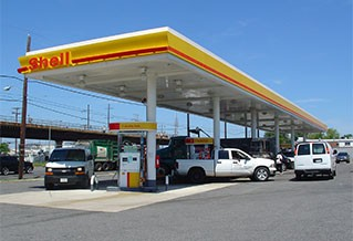 Photo of a fueling station