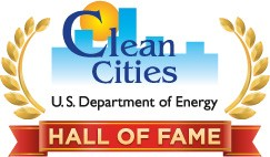 Logo of Clean Cities - U.S. Department of Energy - Hall of Fame