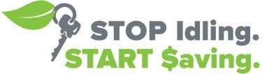 Stop idling - start saving logo