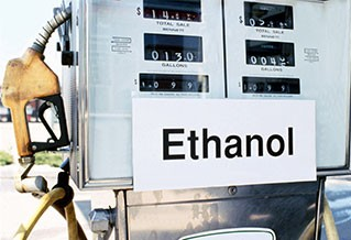 Photo of an ethanol fueling station